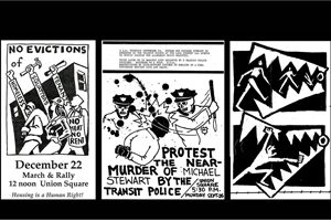 Taking it to the Streets! The art and design of Posters and Fliers on the Lower East Side in the 80s + 90s