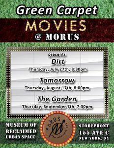 Green Carpet Movies @ MoRUS