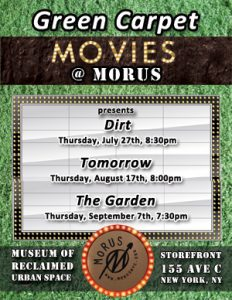 green carpet movies at MoURS